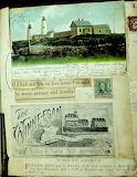 Bakers Island Light Scrapbook Page