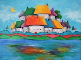 Fairytale town by Paulina Lebida