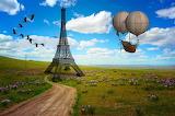 Fantasy Eiffel Tower