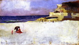 Charles Conder, Bronte Beach Queens Birthday, 1889