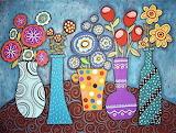 #5 Flower Pots by Karla Gerard