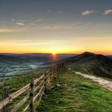 Weites Land am Morgen