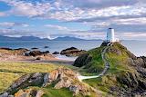 Lighthouse llanddwyn island anglesey wales