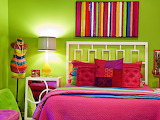☺♥ Colorful bedroom...