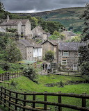 ^ Castleton in the Peak District, England