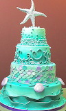 Starfish cake