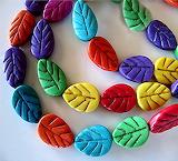 Leaf Beads