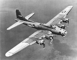 B-17 on bomb run