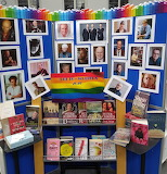 LGBT Book Display, Hammersmith Library