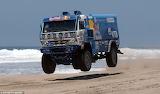 Paris Dakar rally truck