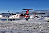 Ravn Alaska Double Dash-8s Anchorage
