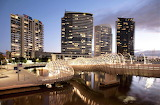 Dusk Webb Bridge Australia
