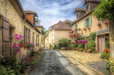 ☺♥ Pretty street in Aquitaine, France...