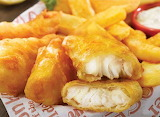 ^ Arctic Cod Fish & Chips