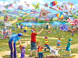 Kites-in-the-park-mary-thompson-jigsaw-puzzle