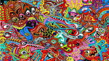 psychedelic, man