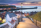 Whitby harbour, Yorksire