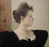 Klimt,  Portrait de femme, 1894