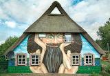 Kunstfassade Zwerghaus hamburg