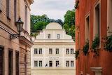Český Krumlov, facade, cz