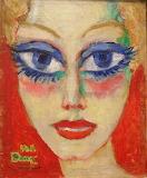 Kees van Dongen: Woman with Blue Eyes (1908)