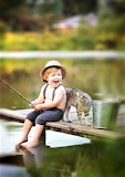 Friends Fishing