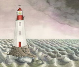 "Art tumblr lustik ""Sophie Blackall"" ""Lighthouse Horizon"" Etsy"