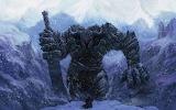 Velikan voin zima chelovek mech sneg 1920x1200