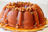 ^ Sweet Potato Pound Cake with Pecans