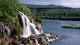State of Idaho Waterfall USA