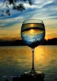 Glass reflection