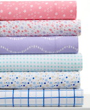Colorful pattered fabric
