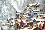Austria Houses Winter 509624