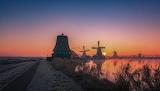 Winter morning - Zaanse schans - Holland