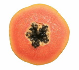 Rotate the papaya