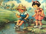 tiny fishermen
