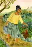 woman in the farm