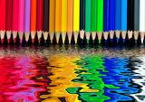 ^ Pencils bleeding colors