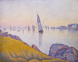 Evening Calm, Concarneau, Paul Signac 1891