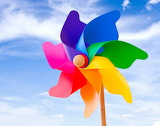 Colorful Wind Fan