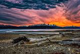 Argentinië Tierra-del-Fuego Uitlopers-van-de-Andes
