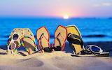 Beach-Slippers-Widescreen-Photography