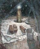 М.А. Ларичев «Блокадный хлеб» Из фондов ВОКГ