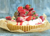 Strawberry pie @ delicious.com.au