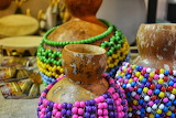 Colorful beads jewelry