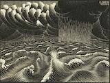 Escher - Il secondo giorno della creazione (1926)