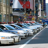 Police cars in NYC!
