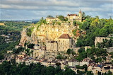 Rocamadour in the sun