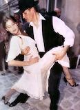 Laetitia Casta dances tango