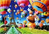 Ballooning in Paris